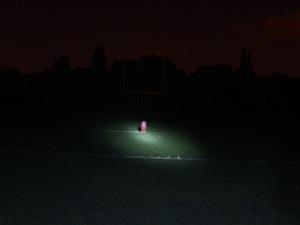 M-A football field lights