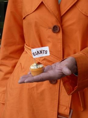Spotted: Giants orange on Santa Cruz Ave