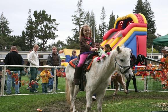 Family fun at Pumpkin Festival in Menlo Park