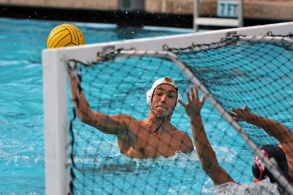 Zach Deal of M-A water polo team