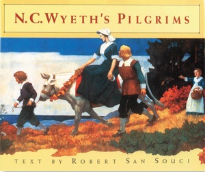 book cover of N.C Wyeth's Pilgrims