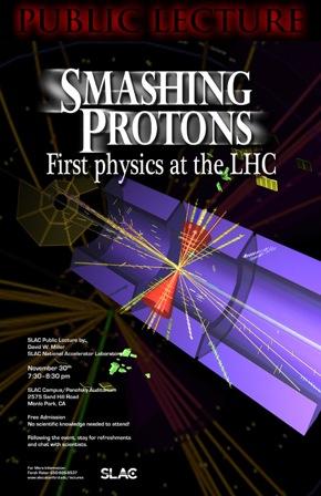 Smashing Protons poster