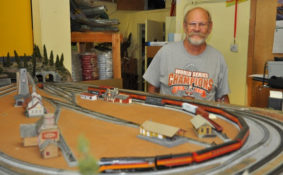 Tom Van Horn of Tom's Trackside