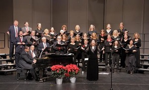 April McNeely: Conducting the Menlo Park Chorus at its holiday concert