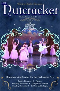 Free Nutcracker performance at the library this Friday (11/19)