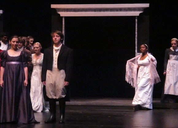 Menlo Atherton High School Production of Pride and Prejudice