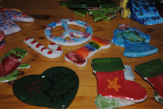 Thursday (12/16) is last day to make pottery gifts ready in time for Christmas at Color Me Mine