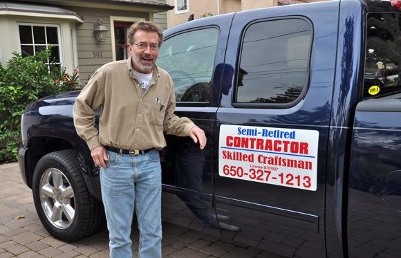 Kevin Bartling of Menlo Park, skilled craftsman