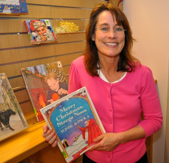 Michele Barrese Burnham, Director of Youth Services at Menlo Park Library
