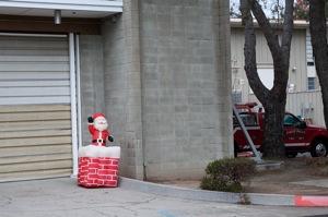 Santa at SLAC