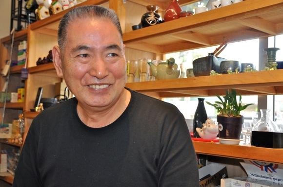 Seikichi (Sam) Kurose, owner of Nak's Oriental Market