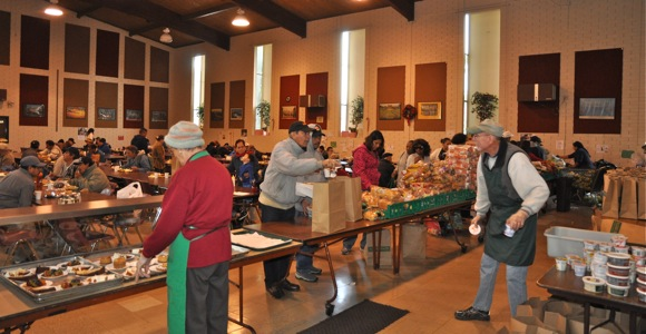 Hospitality and joy is year round at St. Anthony's Padua Dining Room