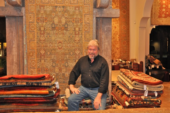 Stephen Miller: An eye for pattern, design and antique rugs