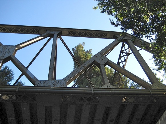 San Fransciquito Creek railway bridge