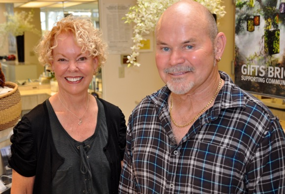 Shawn Blackburn: Menlo's ear piercing guru at Vizions Artwear & Salon