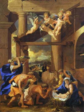 Adoration of the Shephers Nicolas Poussin