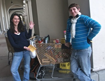 M-A students collect food at Safeway