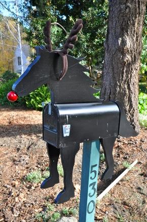 Rudolf mailbox in Menlo Park, CA