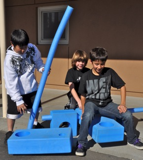 Creativity unleashed at Oak Knoll School, thanks to Imagination Playground