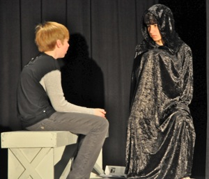 """Tyler Hunsaker: Directing """"The Giver"""" at Hillview School"""