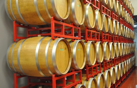 Woodside Vineyards is on the move; barrel tastings this weekend and next
