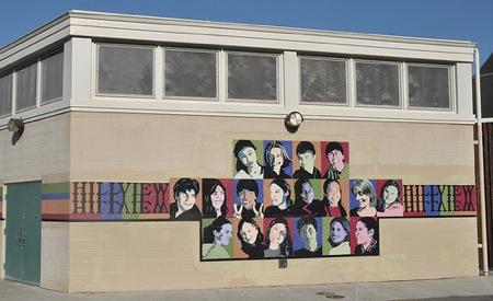 Hillview School mural
