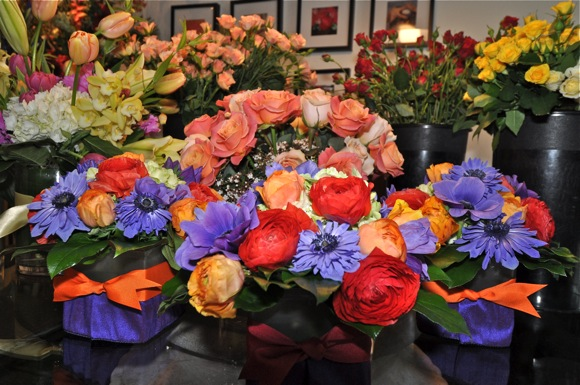 floral arrangements at J Floral Art in Menlo Park