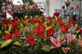 What's up for Valentine's Day at Menlo Park's florists?