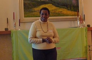 Catherine Wanjohi of Life Blooms in Menlo Park
