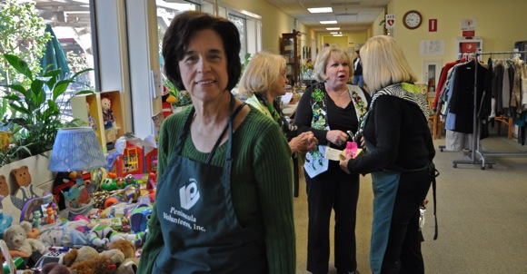 St. Patrick's Day White Elephant Sale at Little House