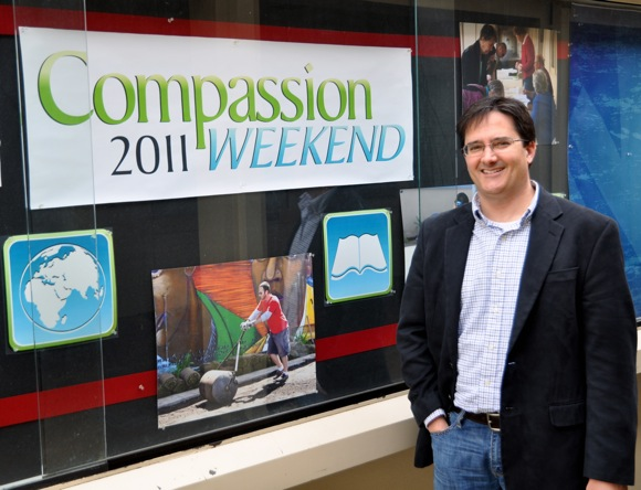 Mark Swarner, Mission pastor at Menlo Park Presbyterian Church