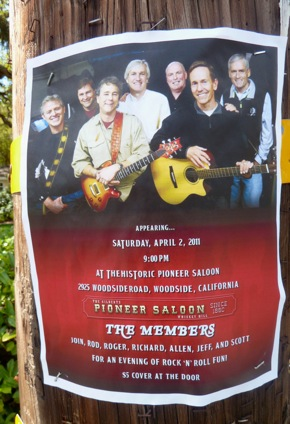 The Members, Menlo Park's garage band
