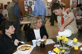 Troop 206 pancake breakfast