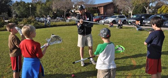 Menlo Atherton Lacrosse Club clinic