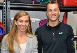 Ashley Riley and Russ Nuffer of The Fit Kids Foundation