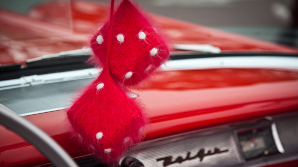 Red Dice - '57 Chevy Bel Air