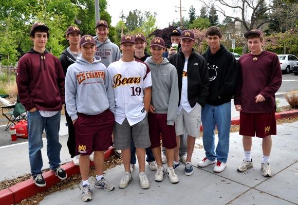 M-A Bears baseball team