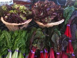 produce from Coke Farms at Menlo Park Farmers Market