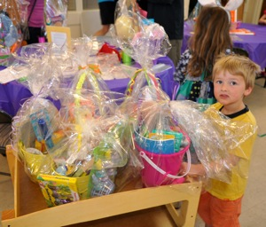 215 (and counting) well-filled Easter baskets