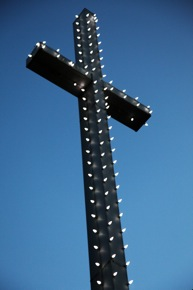 cross at Bethany Lutheran Church in Menlo Park