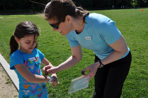 Encinal and Laurel Girls on the Run learn it's about much more than the race