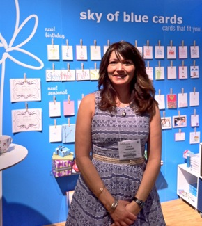 Karla Ebrahimi at 2011 National Stationery Show