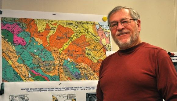 USGS geologist Robert McLaughlin