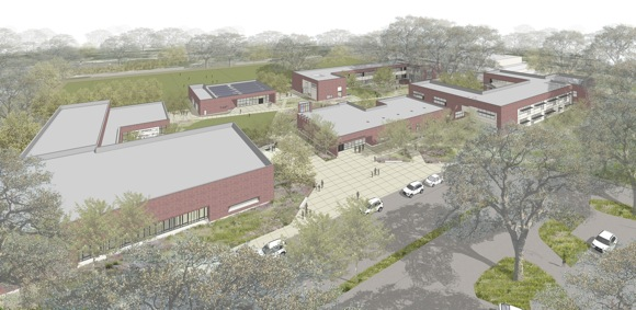 new lower/middle schools at Sacred Heart Schools