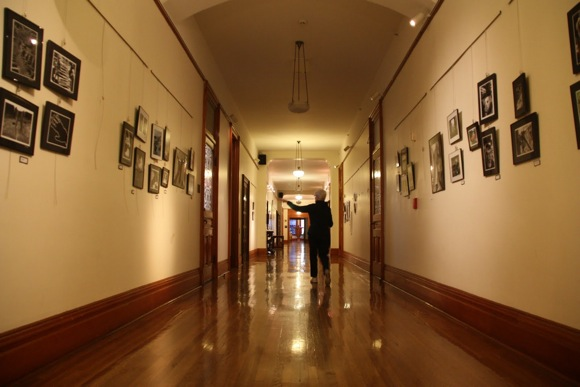 Corridor of Sacred Heart upper school