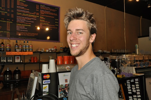 Sean Graves at Cafe Zoe