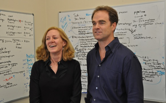 ViveCoach founders Jennifer Gill Roberts and Doug Keare