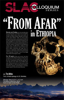 """""""From Afar"""" in Ethiopia is SLAC Colloquium on May 9"""