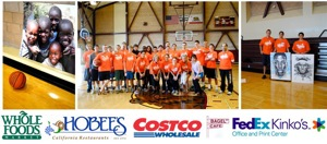 Hoops of Hope event at Menlo Atherton High School
