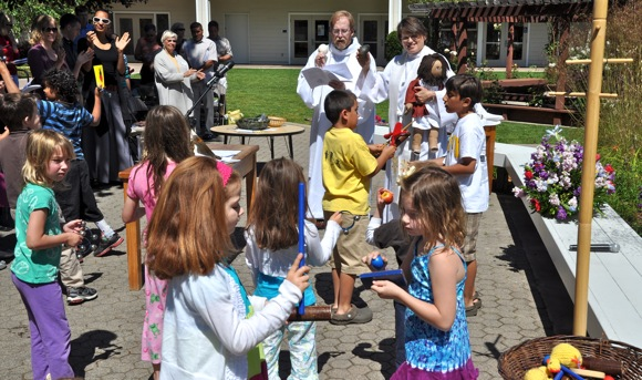 Outdoor church that's fun & engaging for kids